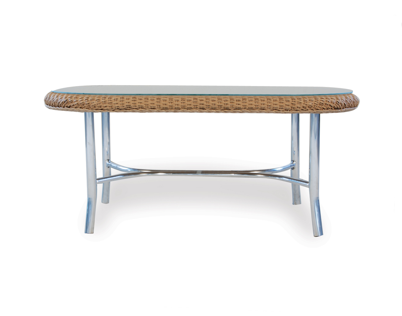 "Loom 42"" Oval Cocktail Table"