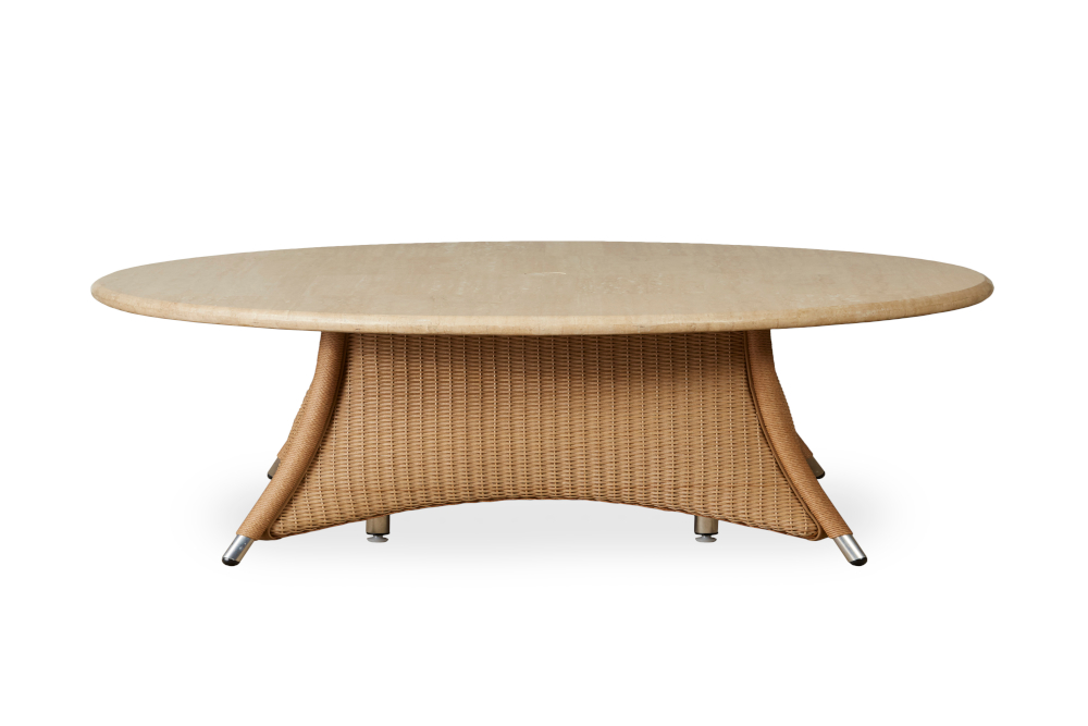 """Generations 48"""" Round Umbrella Chat Table"""